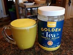 Tasty (PetiteFamily93) Tags: tumeric tea golden