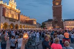 IMGP7322 (TomaszMazon) Tags: protest democracy krakow poland court antigovernment crowd