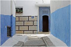 marokko 71 (beauty of all things) Tags: marokko morocco rabat architektur architecture kasbah blauweis