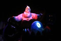 Disney World: Magic Kingdom - Under the Sea: Journey of the Little Mermaid (wallyg) Tags: amusementpark disneyworld fantasyland florida magickingdom orlando themepark undertheseajourneyofthelittlemermaid ursula waltdisneyworldresort baylake orangecounty