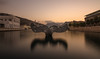 Atardecer. (Amparo Hervella) Tags: cartagena españa spain puerto agua atardecer puestadesol reflejo paisaje largaexposición d7000 nikon nikond7000 comunidadespañola