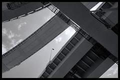 Tokyo Metropolitan Area: Impressions of a great city (Matthias Harbers) Tags: panasonic dmctx1 photoshop elements topaz tokyo metropolitan lumix zs100 tz100 living bw black white monochrome city street life impression blackandwhite photo border tree car classic japan hdr photomatix 3xp yokohama streetphotographer