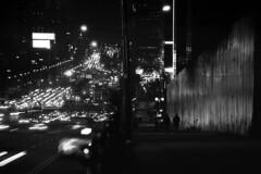 night night (Gonie) Tags: bw nikon f6 ilford delta 100 city korea people