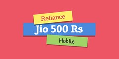 reliance jio 500rs mobile (Photo: flipshope on Flickr)