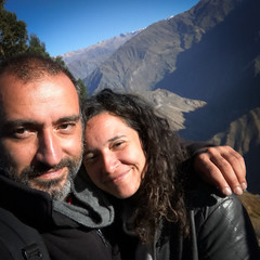 At Colca canyon