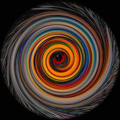 It's all in the eye. (Thunder1203) Tags: digitalart manipulation catseye photoshop ps twirl