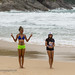 Girls at Nai Harn beach