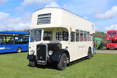 77 years old! (steve vallance coach and bus) Tags: cap229 bristolk ecw brightonhovedistrict opentop southeastbusfestival detling preserved