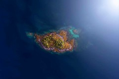 The Island (Jay Daley) Tags: water islands norway topdown drones phantom4pro phantom dji dronephotography aerial drone
