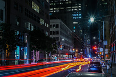 mission street converge (pbo31) Tags: sanfrancisco california nikon d810 color july 2017 summer boury pbo31 night dark black lightstream motion traffic construction financialdistrictsouth city urban missionstreet infinity converge