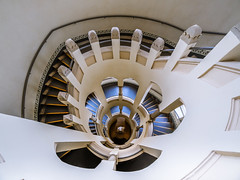 Hospital Tower (K.H.Reichert) Tags: turm wendeltreppe spiralstaircase charité treppe