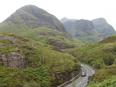 The Three Sisters, Glencoe, Highland, Scotland, 22 July 2017 (AndrewDixon2812) Tags: glencoe scotland highland scottish three sisters pass road bideannambian gearraonach aonachdubh beinnfhada