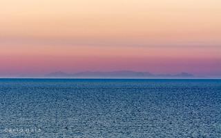 La Corsica vista da Imperia