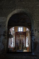 Door of perception (bindubaba) Tags: italy southtyrol churches crucifixion jesus klostersaben