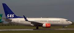 Boeing 737-76N SE-RJR (707-348C) Tags: dublinairport eidw dub boeing airliner jetliner scandanavianairlines sas scandanavian collinstown passenger dublin b737 boeing737 serjr