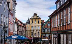 Old Town (dlerps) Tags: altesland daniellerps deutschland europe germany hamburg lerps lowersaxony niedersachsen norddeutschland northerngermany sigma sony sonyalpha sonyalphaa77 lerpsphotography stade city urban altstadt historic old building buildings houses house square townsquare colours colors