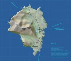 Foula (stevefaeembra) Tags: foula shetland qgis cartography openstreetmap