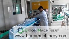 Automatic Liquor Filling Machine - Liquid Bottling Plant_union-machine (packing flour) Tags: automatic filling machine water liquid juice liqueur