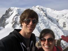 Alps Trip 1127m (mary2678) Tags: aiguille du midi chamonix europe honeymoon mont blanc mountain mountains sky cloud clouds snow dan marielle rick steves myway way alpine tour french alps