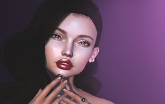 how i did my makeup challenge vlog (Cassandra Middles) Tags: blog blogger blogging iheartsl secondlife second life vlog vlogger vlogging leltuka dev kit photoshop make up drawing tablet own makeup fashion talking chit chat sl video game virtual world sim sims avatar avatars