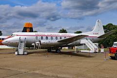 G-ALWF (GH@BHD) Tags: galwf vickers viscount viscountsrs701 bea britisheuropeanairways dux duxford duxfordairfield imperialwarmuseum turboprop airliner aircraft aviation