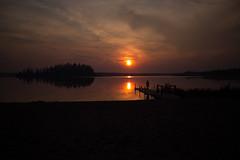 IMG_3923 (d_propp) Tags: elkislandnationalpark astotin lake astotinlake sunset sun sky water summer