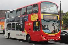 National Express West Midlands Volvo B7TL/Wright Eclipse Gemini 4679 (BX54 XPM) (Acocks Green) 'Steve Widdows' (john-s-91) Tags: nationalexpresswestmidlands volvob7tl wrighteclipsegemini 4679 bx54xpm kingsheath route11a gameofthrones