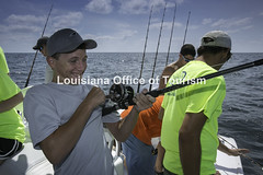 CocodrieCharterFishing (15) WM (Louisiana Tourism Photo Database) Tags: fishing gulf gulfofmexico southernunitedstates angler anglers boating catchingfish charterboat offshore oiandgasrigs outdoorsports outdoors redsnapper southlouisiana water
