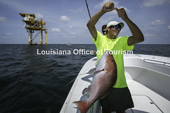 CocodrieCharterFishing (18) WM (Louisiana Tourism Photo Database) Tags: fishing gulf gulfofmexico southernunitedstates angler anglers boating catchingfish charterboat offshore oiandgasrigs outdoorsports outdoors redsnapper southlouisiana water cocodrie louisiana usa