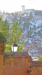 (Sa Shula de Tarifa) Tags: granada españa spain andalucía calle street alhambra casas house farola streetlight ciudad city