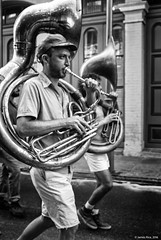 (jsrice00) Tags: leicammonochrom246 35mmf14summiluxasph nola neworleans streetphotography jazz tuba march funeral