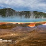 Grand Prismatic Spring Pano (Yellowstone National Park) thumbnail