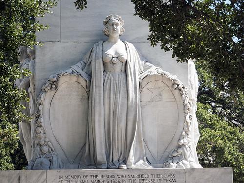 Alamo Cenotaph Woman