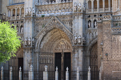 La cathédrale (hans pohl) Tags: espagne castillelamanche toledo eglises churchs architecture portails doors