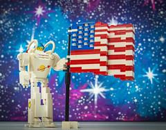 Moon Landing (Baron Julius von Brunk) Tags: lego apollo11 moonlanding lunar neilarmstrong buzzaldrin michaelcollins nasa brunk legospace asronaut
