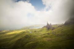 Old-man-storr (philippe MANGUIN photographies) Tags: ecosse scotland skye iledeskye landscape brume paysage