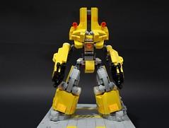 chernonxyellow01 (chubbybots) Tags: lego mech pacificrim