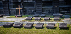 Grave markers at Cologne Cathedral (mary_hulett) Tags: cologne 2017 graves travel europe viking headstones rivercruise cathedralofstpeter colognecathedral rhineriver