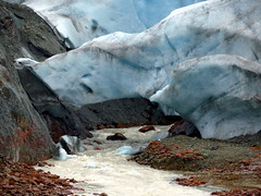 Fallen Bridge (Dru!) Tags: seabridgejuly2017 mitchell glacier ice arch collapse bc britishcolumbia canada river runoff melt glacial boundaryranges coastmountains bell2 ksm icy melted melting climatechange