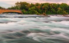 Flow (saurabh.shankar) Tags: waterbody water waterfalls river niagarafalls longexposure landscapes newyork travel outdoors bridges