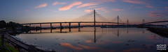 noyo-2017-Forth-Bridge-pano-201717 (Noyo Photography) Tags: forthbridge queensferrycrossing stitchedpanorama portedgar sunset