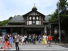Harajuku Station (L e n o r a) Tags: tokyo japan harajuku shibuya