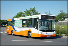 Travel de Courcey 542 (AE54 JRU) (Jason 87030) Tags: traveldecourcey 595 mike midlands coventry rugby hospital university walsgarve orange june 2017 man mcv evolution 542 ae54jru grounds summer hot sony ilce nex lens flickr alpha a6000 nes bus publictransport service route uk