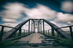 Decayed bridge (Raven-Photography.nl) Tags: bridge abandoned iceland urbex decay dark long exposure jip van bodegom