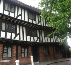 [52674] Coventry : Lychgate Cottages (Budby) Tags: coventry westmidlands timbered