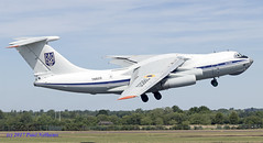 78820 IL-76MD Ukraine Air Force (Anhedral) Tags: 78820 ilyushin il76 il76md ukraineairforce takeoff military topside transport freighter riat riat2017 ukraine78820