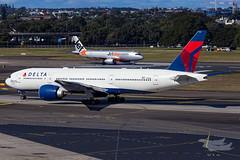 N701DN DL B77L 25 YSSY-1247 (A u s s i e P o m m) Tags: mascot newsouthwales australia au delta dl boeing b77l syd yssy sydneyairport
