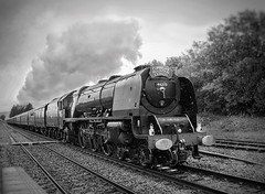 Dynamic Duchess (JohnN60) Tags: coronationclass yorkshire north ribblehead express cumbrian 56233 lms sutherland duchess stanier