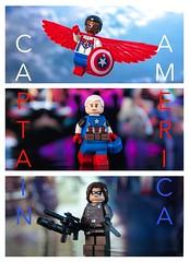 [Marvel] O Captain, My Captain (| Jonathan |) Tags: generalgeriatric kobik pleasanthill secretempireprelude legacy samwilson buckybarnes steverogers captainamerica marvelcomics lego