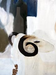 Das Horn. / 08.07.2017 (ben.kaden) Tags: frankfurtanderoder logenstrase wmdkffo wasmachtdiekunstfrankfurtoder eberhardhückstädt malerei malereiderddr hinterglasmalerei diefreundschaftdersozialistischenvölker detail kunstderddr 1978 2017 08072017 glasmalerei